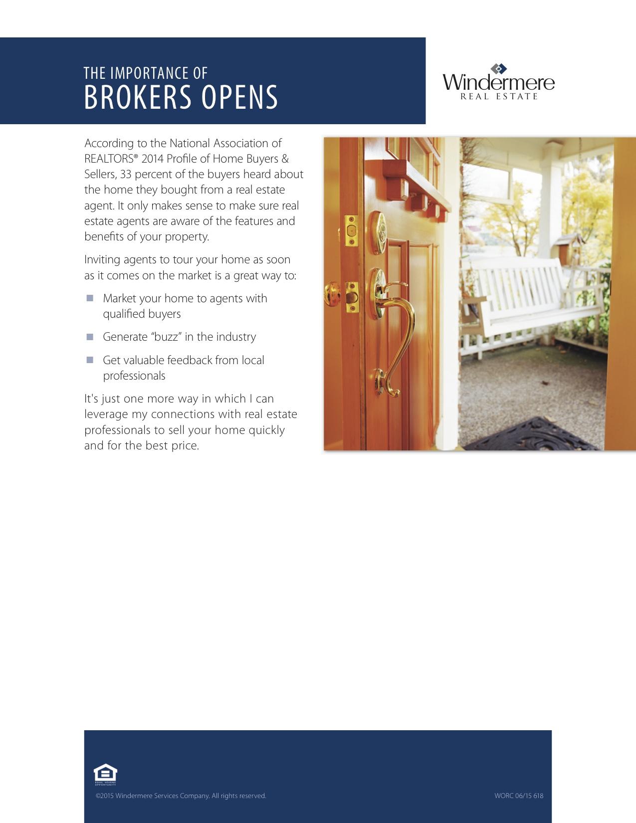 618 Brokers Open WORC